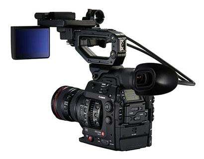 caméra Canon C300 Mark II avec objectif