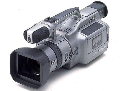 Premier caméscope mini DV Sony DCR-VX1000.