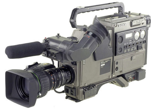Caméra Bétacam SP dans une de ses premières versions.