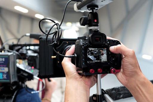 Canon 5D MarkII en tournage.